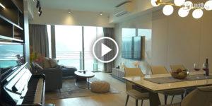【室內設計】荃灣西愛炫美酒店式風格 如何兼顧儲物需求?