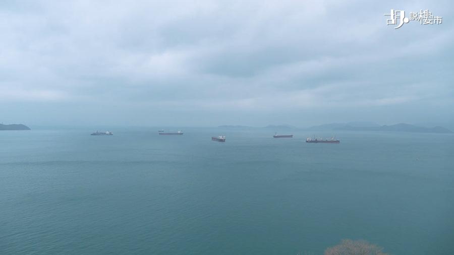 單位外望180度海景