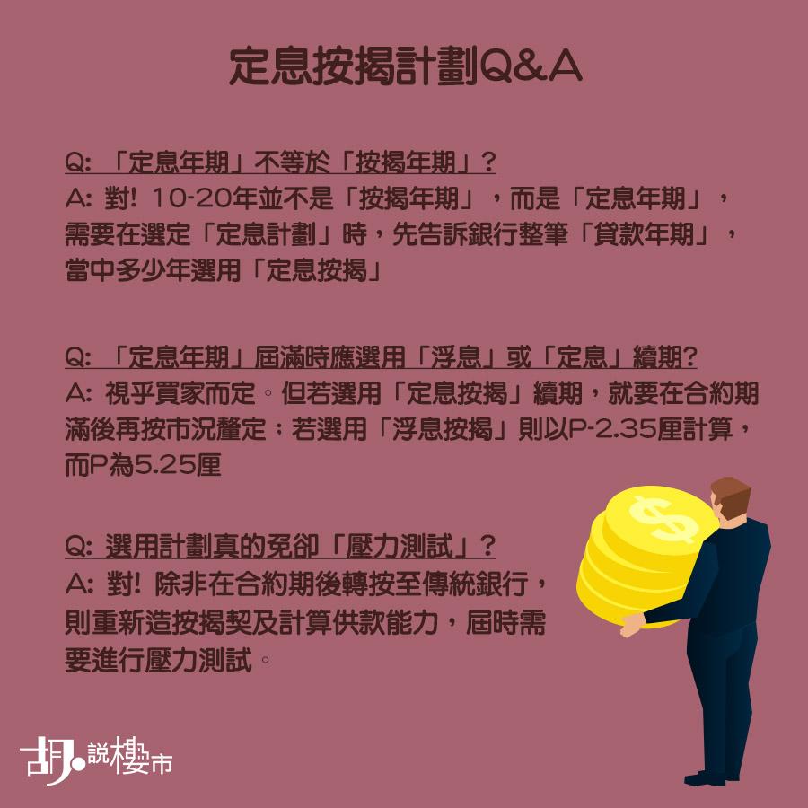 定息按揭Q&A