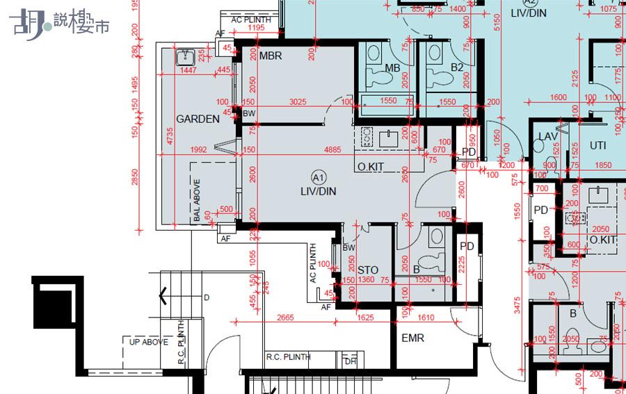 2座A1室(地下)