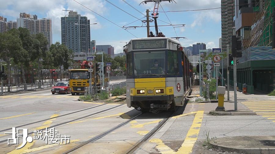 居民暫時依賴輕鐵、小巴和巴士接駁外出市區