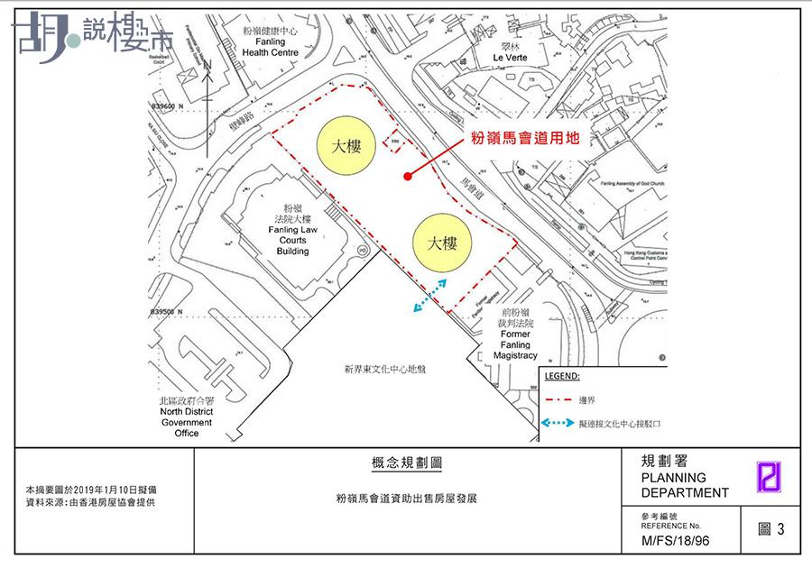 房協馬會道項目規劃圖