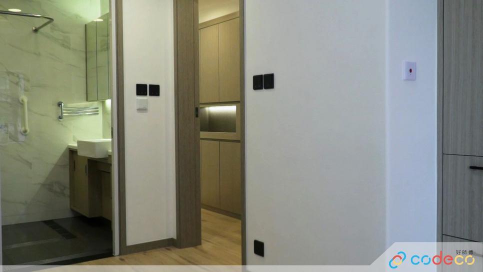 燈掣高建議比一般家居造得矮一點,約850至 900mm高