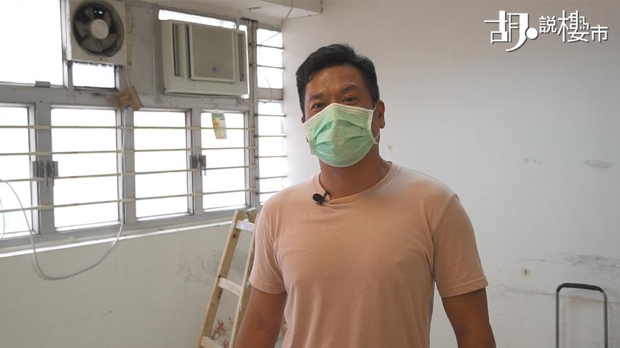 裝修達人潘俊文表示,廚房牆磚容易受熱膨脹,導致剝落。