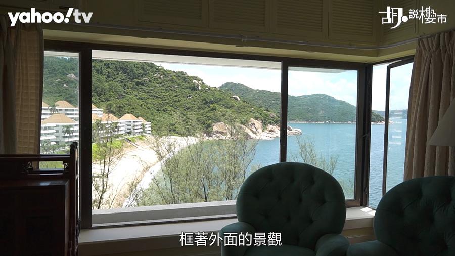 客飯廳可望巨型海景