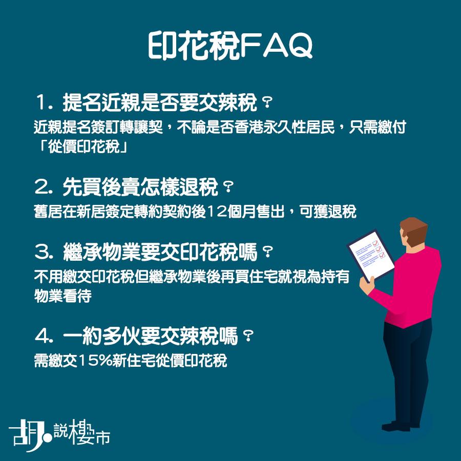 印花稅FAQ