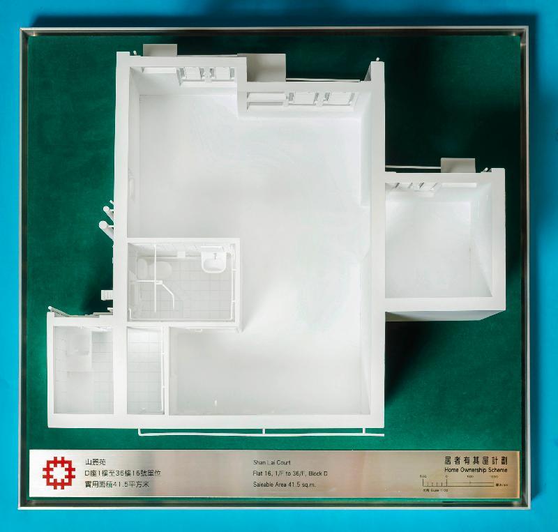 山麗苑D座1樓至36樓16號單位模型