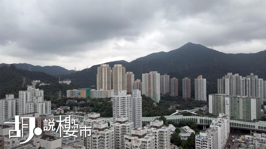 向北單位高於25樓,可望針山景觀