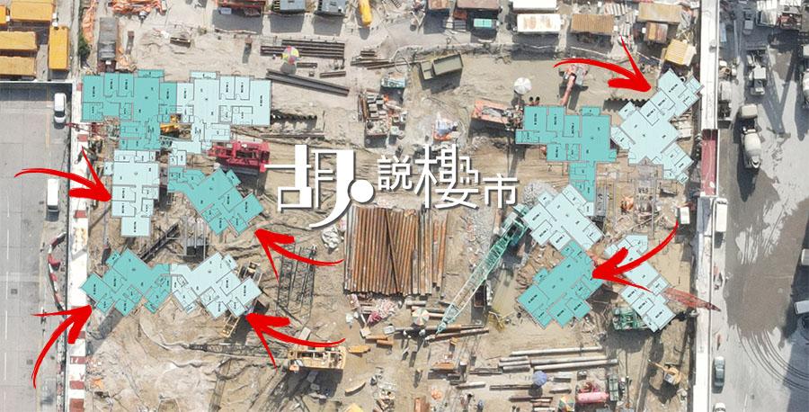 3房1套連工人房及工人廁平面圖