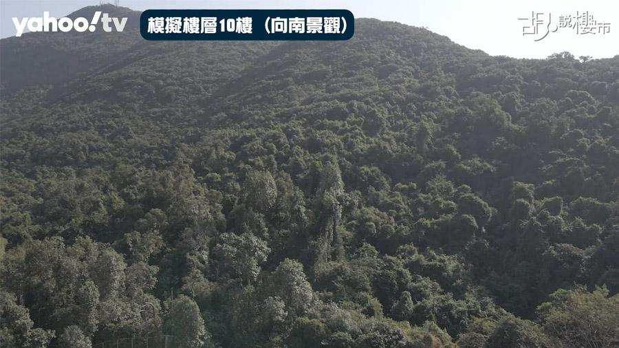 黃竹坑站一期向南景觀