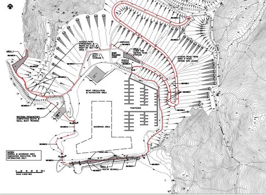 石澳石礦場規劃