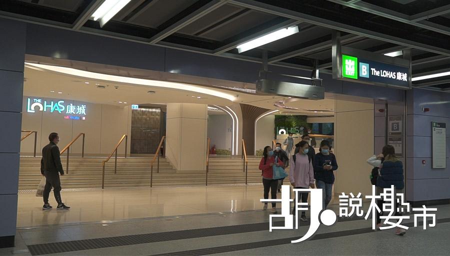 康城站鐵路採「2+1」行車模式