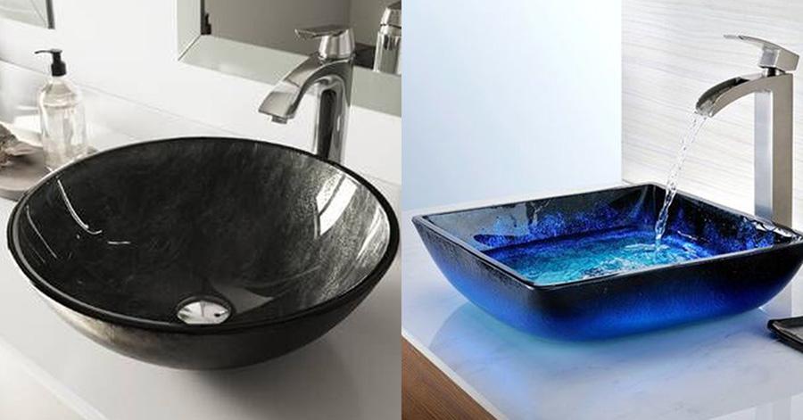 玻璃洗手盆