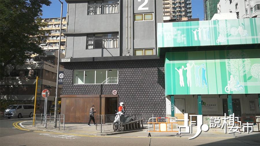共居空間大門用隱蔽式設計