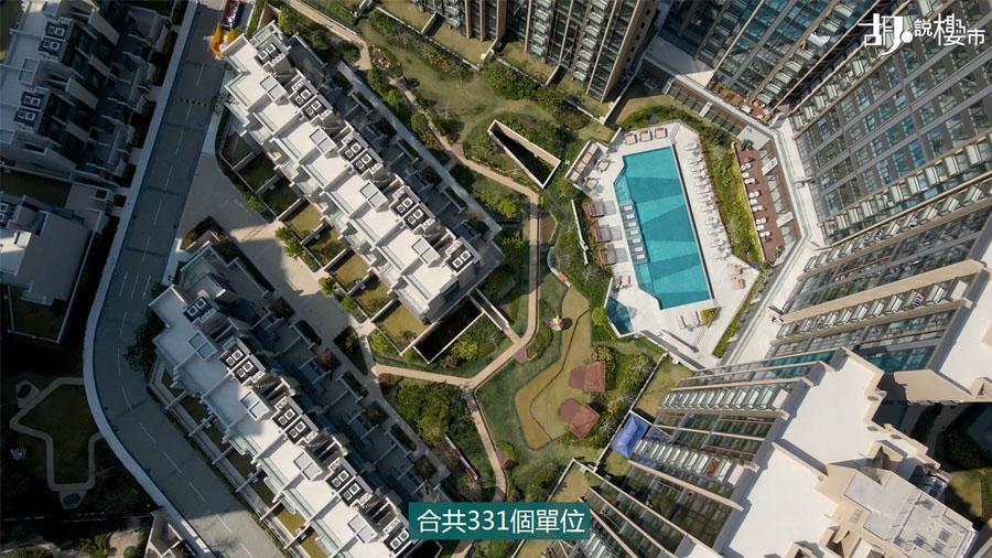 園林設計,面積比例達整個樓盤的30%