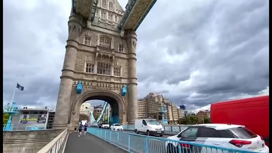 Tower Bridge是Tower of Hamlet的地標