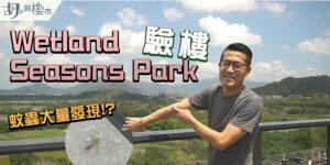 【Wetland Seasons Park一期: 入伙驗樓】實測蚊蟲、手機網絡! 目前租金叫幾多? (附影片)